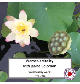 Maria Luisa Women���s Vitality: Reclaiming your feminine energy- April 1