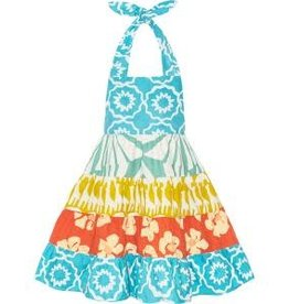 Girls Carousel Halter Dress