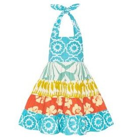 Girls Carousel Halter Dress