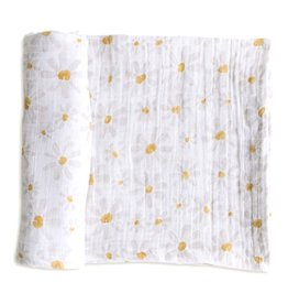Pehr Organic Cotton Swaddle - Daisy