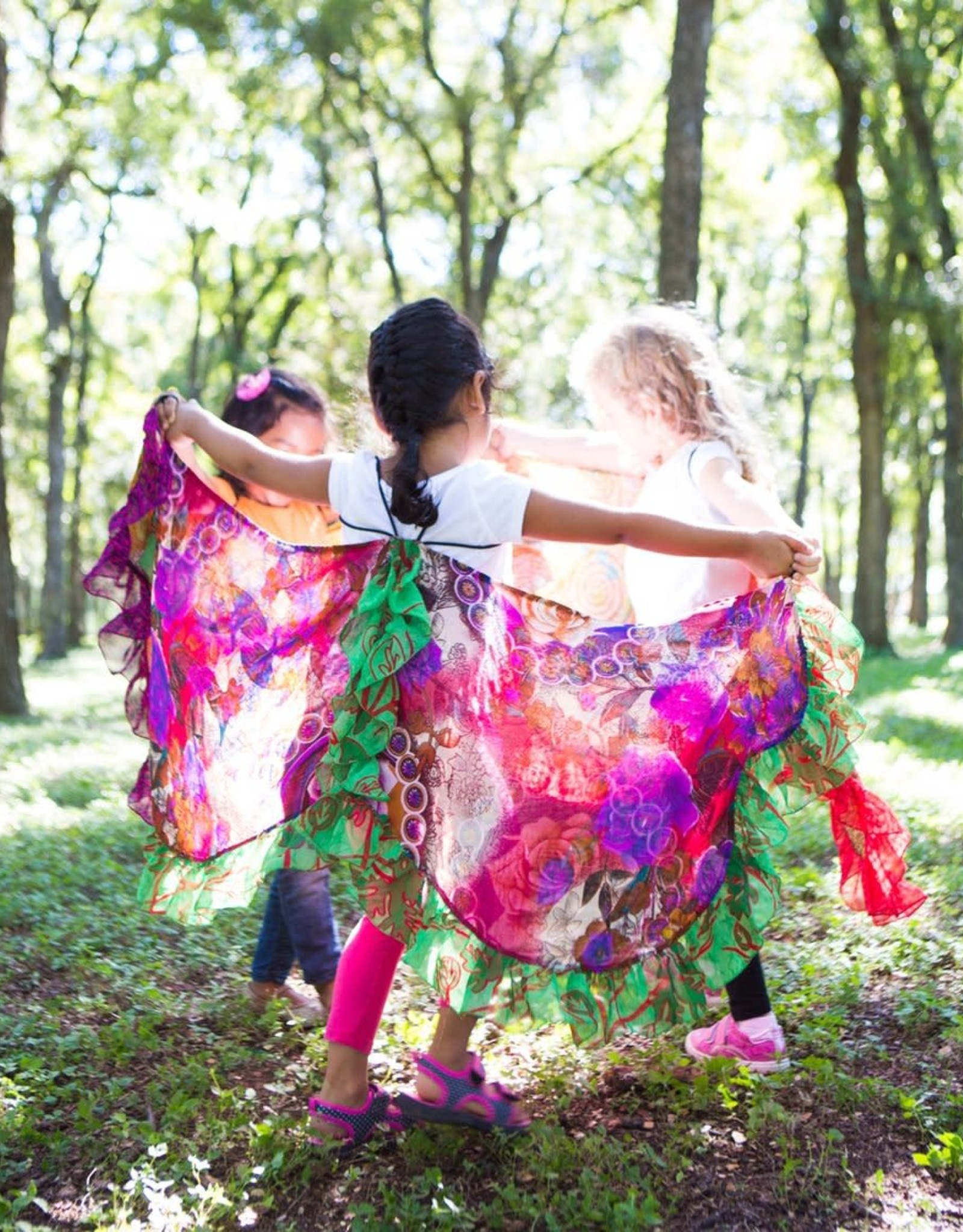 Matr Boomie Upcycled Sari Butterfly Wings