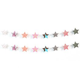 Matr Boomie Metallic Cotton Star Garland