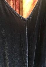 Cut Loose V-Neck Velvet Jumpsuit