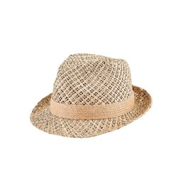 Women's Seagrass Fedora W/Hemp Band