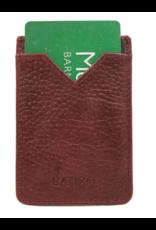 Latico Leathers Adhesive Card Holder