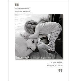 Borealis Press No Act Of Kindness - Thank You Card