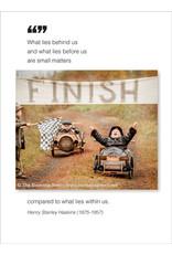 Borealis Press What lies behind us - Birthday Card