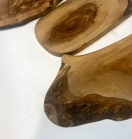 """Natural Olive Slab cutting Board Approx. 12"""""""