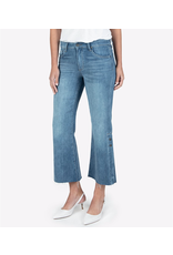 KUT from the kloth Kelsey High Rise Snap Ankle Flare Jeans