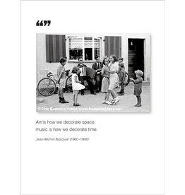 Borealis Press Art Is How - Greeting Card