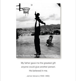 Borealis Press My Father Gave Me Card
