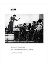 Borealis Press Women's Friendships Card