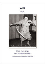 Borealis Press Youth. It Lasts Much Longer Card