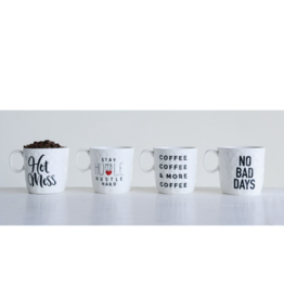 Creative Co-op Stoneware Mug