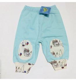 Lou & Dejlig Print Knee Patch Org. Cotton Leggings