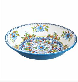le cadeaux Madrid White Salad Serving Bowl