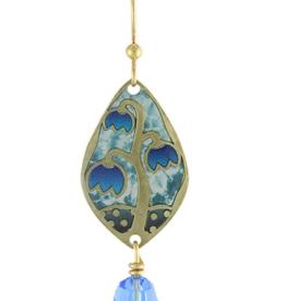 Earth Dreams Gold Bell Flower Bellas Earrings