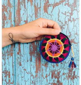 Moon Crochet Coin Purse-Guatemala