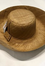 "Shebobo Monica Solid 5"" Brim Hat"
