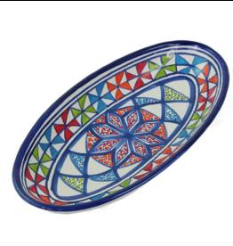 sobremesa Small Pinwheel Oval Platter