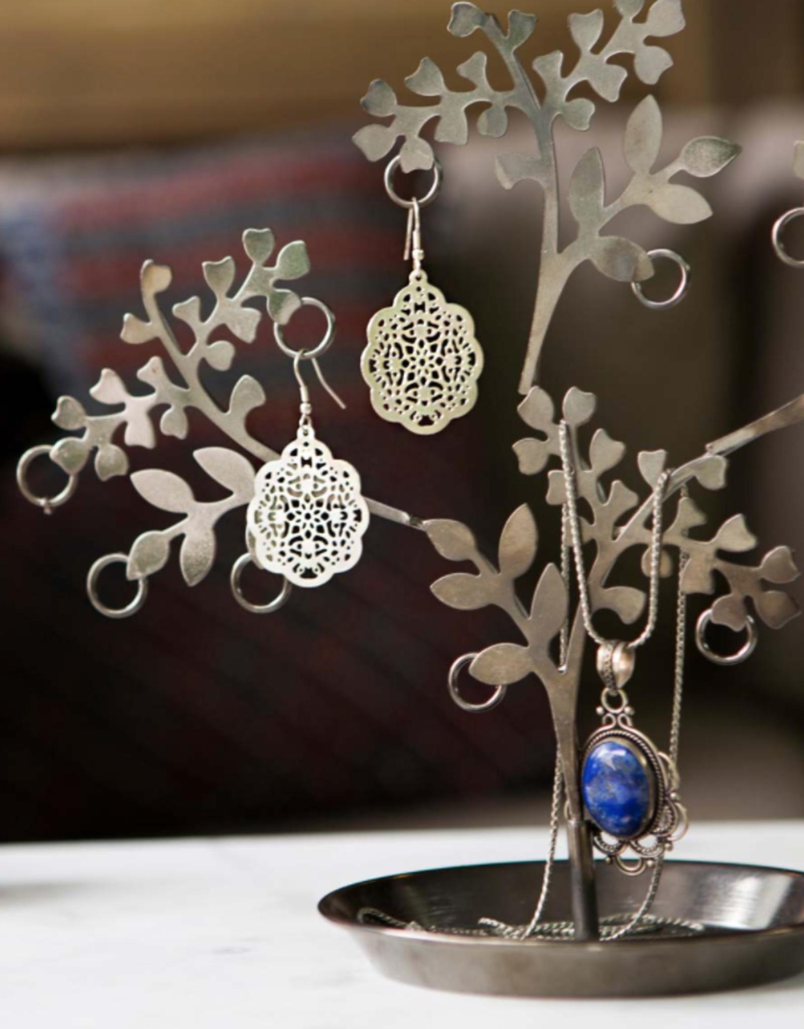 Matr Boomie Viti Earrings - Silver