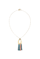 Matr Boomie Nihira Necklace - Multi Footprint