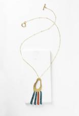 Matr Boomie Nihira Necklace - Multi Footprint