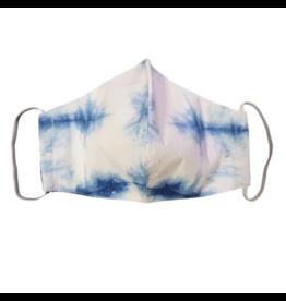 Lumily Tie Dye Face Mask - Indigo