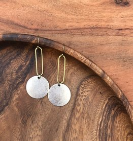fate&Coincidence Silver + Gold Earrings