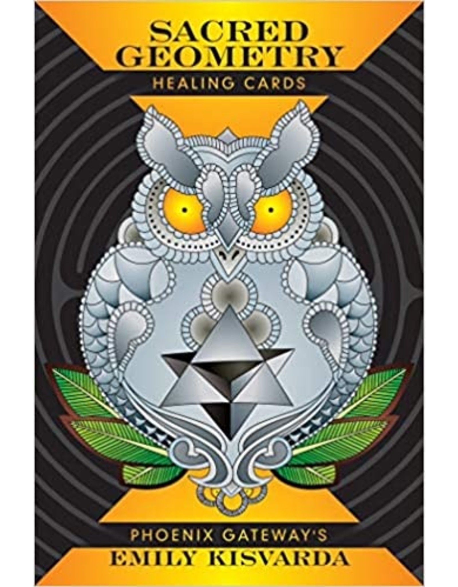 Red Feather Sacred Geometry Healing Cards
