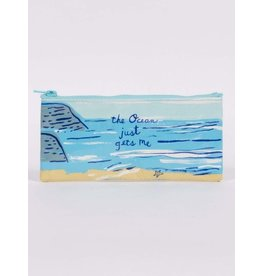 Blue Q The Ocean Just Gets Me Pencil Case