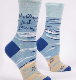 Blue Q The Ocean Just Gets Me Women's Socks