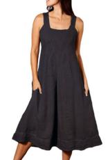 Porto Square Neck Linen Dress INN90309