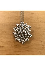 Lisa Medoff #114 Maria Dot Cluster Pendant on Chain