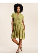 Luna Luz Shawl Collar Dress