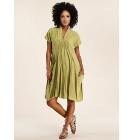 Luna Luz Shawl Collar Dress