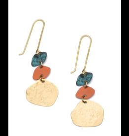 Matr Boomie Nihira Earrings - Multi Drop