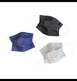 Lumily 3-Pack Vida Pleated Reusable Face Mask - Minimalist