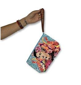 Lumily Frida Kahlo Wristlet
