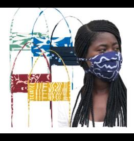 Global Mamas Batik Adult Face Mask