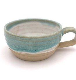 Mosquito Mud Pottery Stoneware Soup Mug