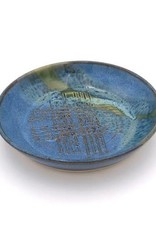Mosquito Mud Pottery Stoneware Garlic Rub Plate