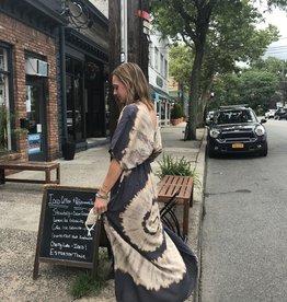 Rubyzaar Maxi Tie-Dye Butterfly Dress