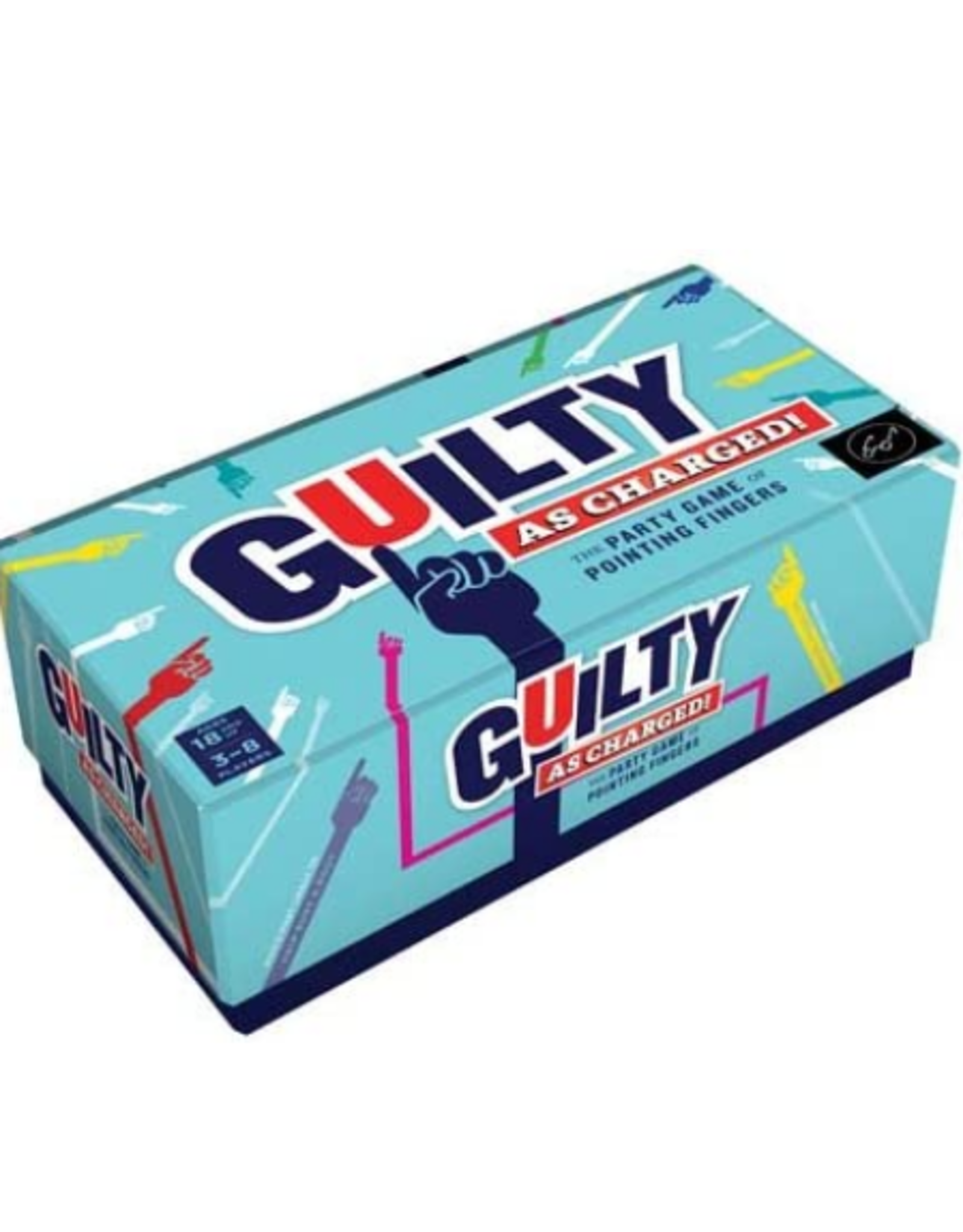Chronicle Books Guilty as Charged Party Game