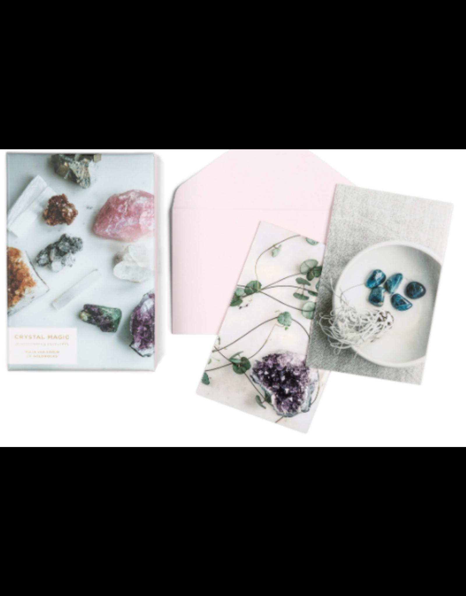 Chronicle Books Crystal Magic 16 Notecards & Envelopes