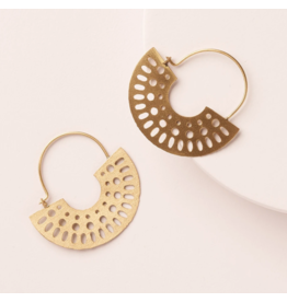 Abhaya Hoop Earrings