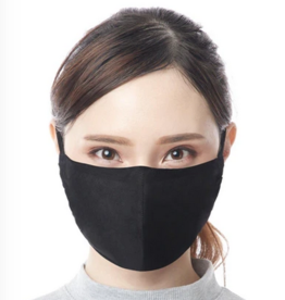 A Mano/Lumily Adult Face Mask Solid Black
