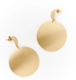 Matr Boomie RAJANI Earrings -Gold Stud