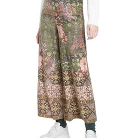 Tapestry Inspired Knit Culottes