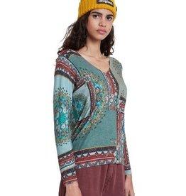 Boho Knit Pullover